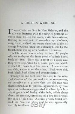 1893 AFRICAN AMERICAN WEDDING us slave BLACK DIALECT Southern Plantation SLAVERY