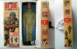 1964 Vintage Gi Joe Black African American Action Soldier In Box Complete