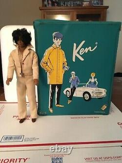 1968 Mattel African American Black Male Ken Barbie Doll Afro Sensational Malibu