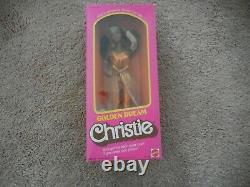 1980 Golden Dream Christie 3249 Mattel African American Black Barbie Doll NRFB