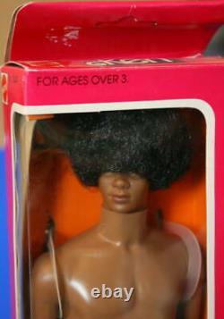 1981 Black Malibu Ken NRFB 1st AA African American Ken Vintage Barbie Superstar