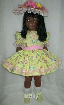 1981 Ideal 35 Patti Playpal Doll African American, Black Hair, Brown Eyes