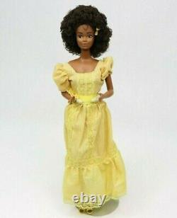 1981 Magic Curl Christie BARBIE African American / Black Mattel #3989 Vintage