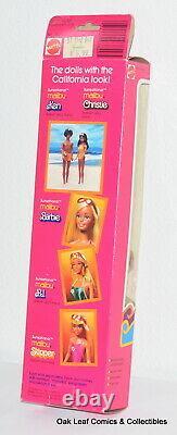1981 Sunsational Malibu Black AA Ken BARBIE Mattel 3849 NRFB Vintage Nice box