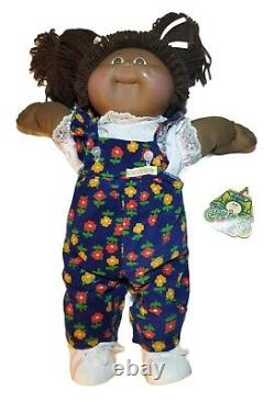 1983 First Edition Black African American Cabbage Patch Girl Doll Xavier Roberts