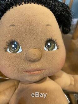 1985 MY CHILD AA DOLL Black Hair Brown Eyes African American CLEAN