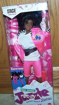 1988 Mattel High School Jazzie STACIE Doll -#3636