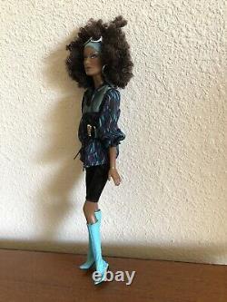 2007 Barbie Top Model Nikki AA/Black Doll Mattel #M6777 Deboxed, Very Nice