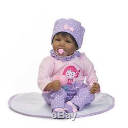 22 Reborn Baby Dolls Black African Boy Reborn Dolls Soft Body Real Life Newborn