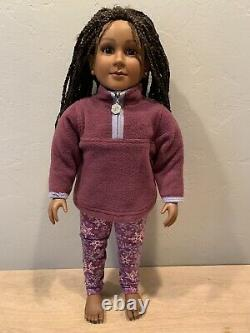 23 My Twinn Doll Black Hair Dark Skin African American Posable Excellent Cond