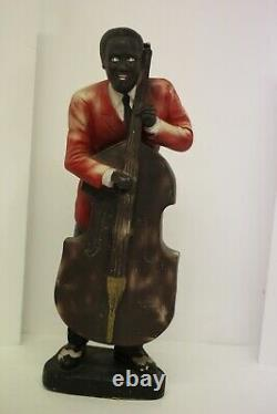 5-20 African American Black Jazz Band Figure, Louis Armstrong, Billie Holiday