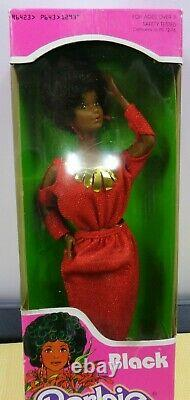70s Vintage AA Christie Barbie Doll 1293 Black Steffie Face Mold 1979 NEW in Box
