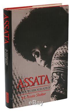 ASSATA SHAKUR an Autobiography First Edition 1st 1987 Black Liberation Army