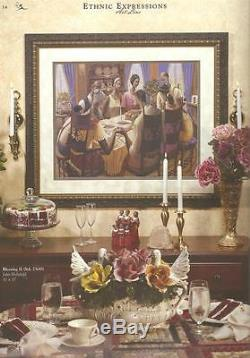 African American Black Art Print BLESSING II by John Holyfield