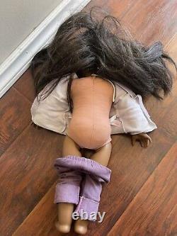 African American Girl DOLL JLY #50 Black Hair Dark Skin