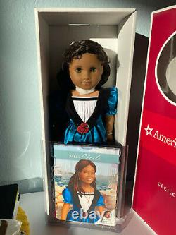 American Girl 18 Cecile Doll NEW NRFB Retired! Complete with Book