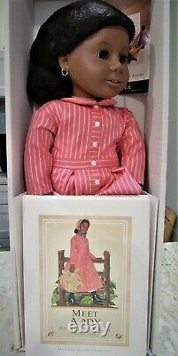 American Girl ADDY WALKER Black Doll with hardcover Book One 18 NIB Retired