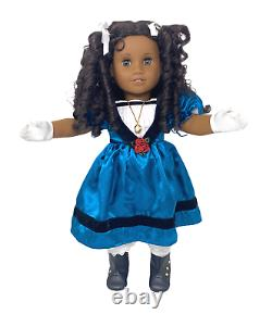 American Girl Historical Doll Cecile Rey With Box Retired HTF Meet Outfit Plus