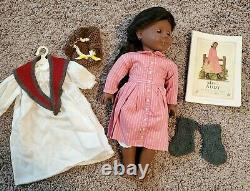 American Girl Historical RETIRED Addy Pleasant Company huge lot books doll