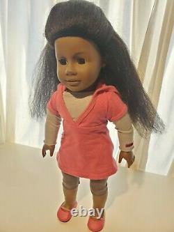 American Girl doll Truly Me Just like you #1 African American black hair clean x