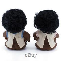Anatomically Correct DAM Norfin Troll African American Black Dolls Baby Boy Girl