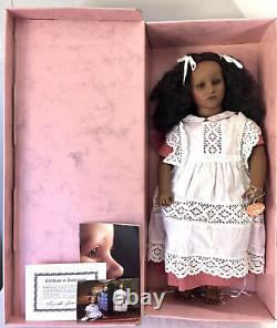 Annette Himstedt 27 Fatou Black Barefoot Children Series Doll Made in Spain