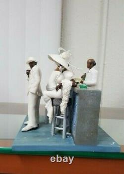 Annie Lee Figurine White Tie Only Scene Two/African American Art/Black Americana