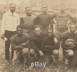 Antique 1910's Alabama HBCU African American Black College Football Team Photo