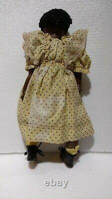 Antique German Bisque Doll Black Unknown Maker 15