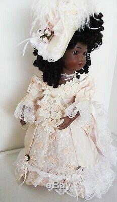 Antique Reproduction A. Thuiller Black African Porcelain Patricia Loveless Doll