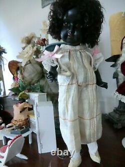 Antique black 1914 dep doll 11 inch