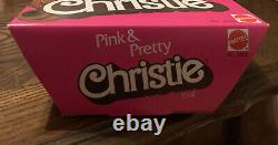 BARBIE DOLL 1981 PINK & PRETTY CHRISTIE African American BLACK 3555 VINTAGE