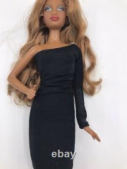 Barbie Basics Lot Black Label Model No 04 001 Red 008 African American 3 Dolls