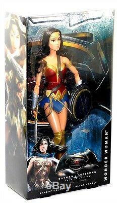 Barbie Black Label Dawn of Justice Batman Superman Wonder Woman 3 Doll Set