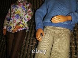 Barbie Doll Happy Family Grandma's Kitchen Grandpa B9885 Black Aa Grandparents