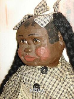 Black Americana Dolls, Arnett's Country Store, Tucker 34 & Molly Kate 35