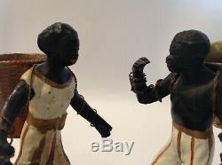 Blackamoor Nubian Figurines Art Deco Black African-American Memorabilia Bronze