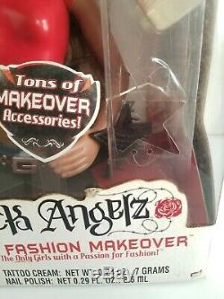 Bratz Sasha Styling Head Funky Fashion Makeover Doll 14 Black MGA Hard to Find