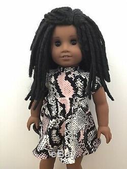 Cherise Custom OOAK African American Girl Doll Sonali Black Hair Brown Eyes