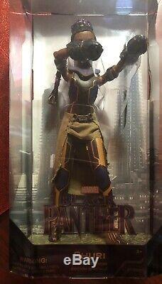 Disney Store Marvel Princess Shuri Special Edition Doll Black Panther NIB