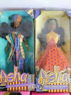 Doll Deluge! Racially Diverse 14 New Boxed Black African American DOLLS Barbies