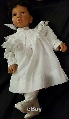 FIRST GENERATION AA Middleton Doll Eva Helland Black Hair Dark Eyes