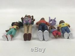 FISHER PRICE LOVING FAMILY African American Black Family 2002 Complete Set