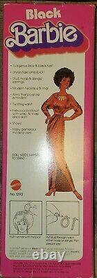 First Black Barbie 1979 NIB