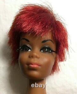 Free Ship Vintage Julia Barbie Mattel Black African American Twist & Turn 1966