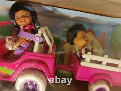 Kelly Tommy Doll JEEP VEHICLE POWER WHEELS African American Black RARE & HTF