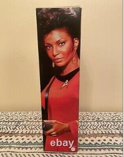 Mattel Barbie Black Label 2016 Uhura Collector Doll Star Trek 50th Anniversary