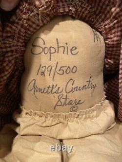 Maynard Arnett's Country Store, Black Sophie Wood Resin #129 of 500, 19 Tall