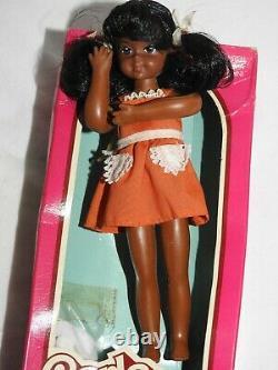 NEW 1976 Mattel 6.5 CARLA Black African American Barbie Doll 7377 Vintage