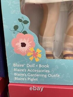 NEW American Girl BLAIRE WILSON DOLL & Accessories Set